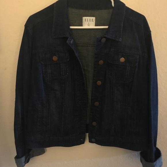 b63389fe955 Elle Jackets   Blazers - Denim Jean Jacket